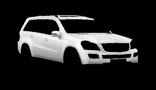 Цвета кузова GL-Class (X164)